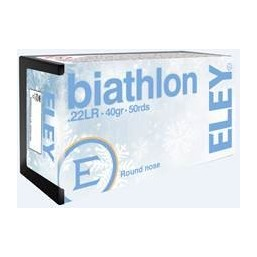 Munitions 22LR ELEY BIATHLON